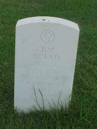 BEARD (VETERAN WWI), JIM - Pulaski County, Arkansas | JIM BEARD (VETERAN WWI) - Arkansas Gravestone Photos