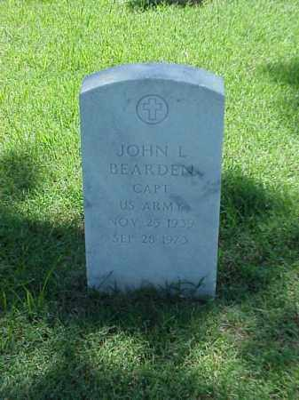 BEARDEN (VETERAN VIET), JOHN L - Pulaski County, Arkansas | JOHN L BEARDEN (VETERAN VIET) - Arkansas Gravestone Photos