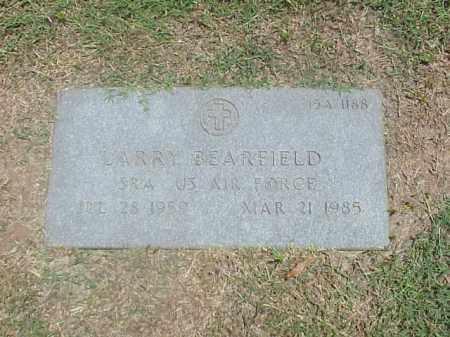 BEARFIELD (VETERAN), LARRY - Pulaski County, Arkansas   LARRY BEARFIELD (VETERAN) - Arkansas Gravestone Photos