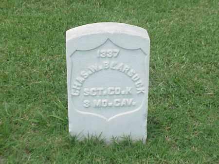 BEARSOCK (VETERAN UNION), CHARLES W - Pulaski County, Arkansas   CHARLES W BEARSOCK (VETERAN UNION) - Arkansas Gravestone Photos