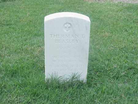 BEASLEY (VETERAN WWII), THERMAN E - Pulaski County, Arkansas   THERMAN E BEASLEY (VETERAN WWII) - Arkansas Gravestone Photos