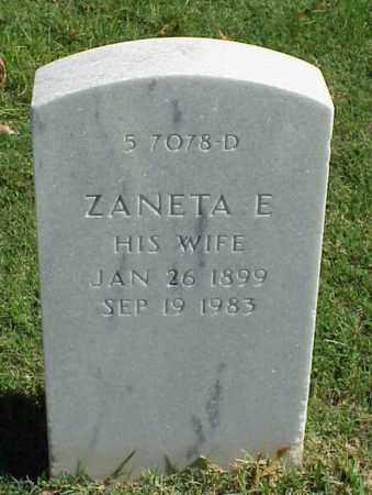 BEATTY, ZANETA E - Pulaski County, Arkansas | ZANETA E BEATTY - Arkansas Gravestone Photos