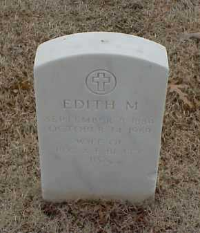 BEATY, EDITH M - Pulaski County, Arkansas | EDITH M BEATY - Arkansas Gravestone Photos