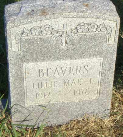 BEAVERS, LILLIE MAE J. - Pulaski County, Arkansas | LILLIE MAE J. BEAVERS - Arkansas Gravestone Photos
