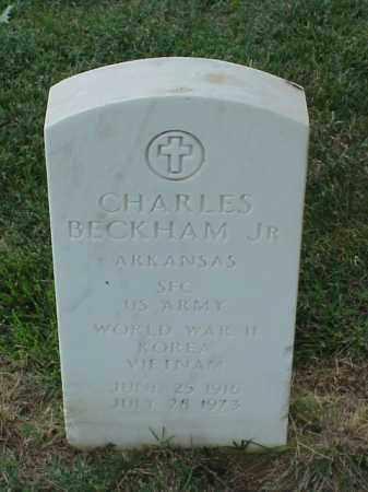 BECKHAM, JR (VETERAN 3 WARS), CHARLES - Pulaski County, Arkansas | CHARLES BECKHAM, JR (VETERAN 3 WARS) - Arkansas Gravestone Photos