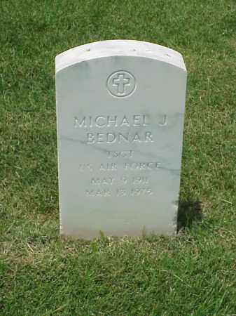 BEDNAR (VETERAN), MICHAEL J - Pulaski County, Arkansas | MICHAEL J BEDNAR (VETERAN) - Arkansas Gravestone Photos