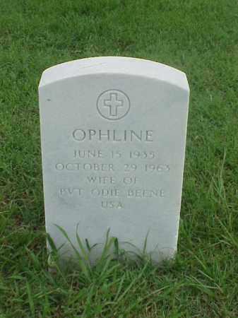 BEENE, OPHLINE - Pulaski County, Arkansas   OPHLINE BEENE - Arkansas Gravestone Photos