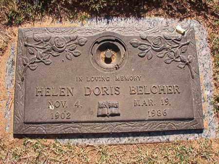 BELCHER, HELEN DORIS - Pulaski County, Arkansas | HELEN DORIS BELCHER - Arkansas Gravestone Photos