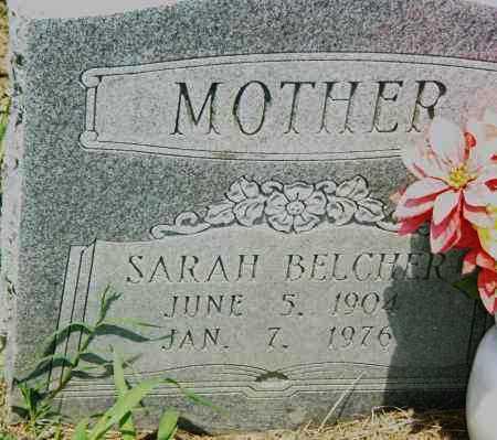 BELCHER, SARAH - Pulaski County, Arkansas   SARAH BELCHER - Arkansas Gravestone Photos