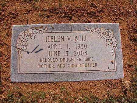 BELL, HELEN V - Pulaski County, Arkansas | HELEN V BELL - Arkansas Gravestone Photos