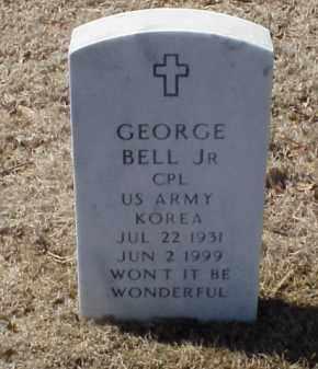 BELL, JR (VETERAN KOR), GEORGE - Pulaski County, Arkansas   GEORGE BELL, JR (VETERAN KOR) - Arkansas Gravestone Photos
