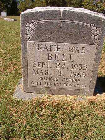 BELL, KATIE MAE - Pulaski County, Arkansas   KATIE MAE BELL - Arkansas Gravestone Photos