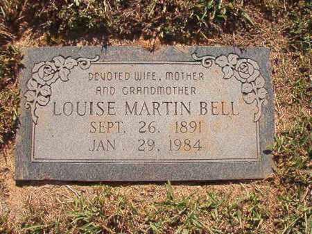 BELL, LOUISE - Pulaski County, Arkansas | LOUISE BELL - Arkansas Gravestone Photos