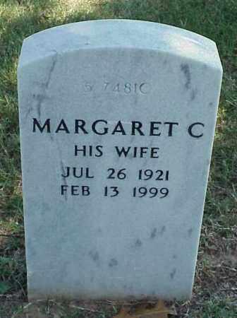 BELL, MARGARET C - Pulaski County, Arkansas | MARGARET C BELL - Arkansas Gravestone Photos