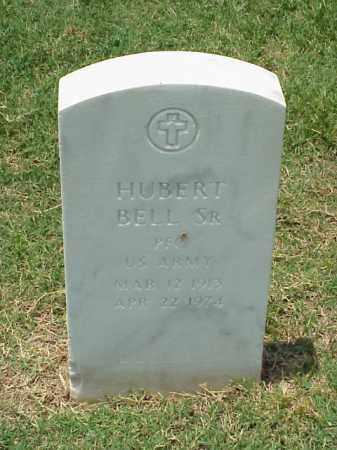 BELL, SR (VETERAN), HUBERT - Pulaski County, Arkansas   HUBERT BELL, SR (VETERAN) - Arkansas Gravestone Photos