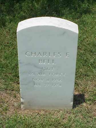 BELL (VETERAN), CHARLES E - Pulaski County, Arkansas   CHARLES E BELL (VETERAN) - Arkansas Gravestone Photos