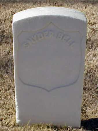 BELL (VETERAN UNION), SNYDER - Pulaski County, Arkansas | SNYDER BELL (VETERAN UNION) - Arkansas Gravestone Photos