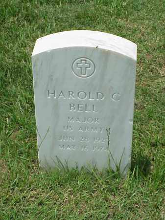 BELL (VETERAN WWII), HAROLD C - Pulaski County, Arkansas | HAROLD C BELL (VETERAN WWII) - Arkansas Gravestone Photos