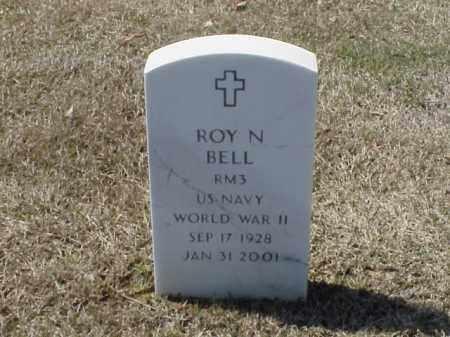 BELL (VETERAN WWII), ROY N - Pulaski County, Arkansas | ROY N BELL (VETERAN WWII) - Arkansas Gravestone Photos