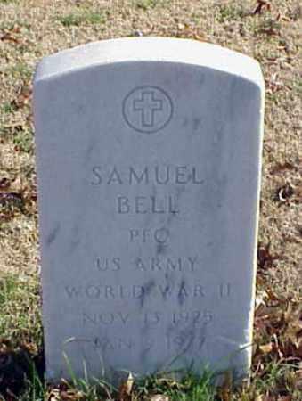 BELL (VETERAN WWII), SAMUEL - Pulaski County, Arkansas | SAMUEL BELL (VETERAN WWII) - Arkansas Gravestone Photos
