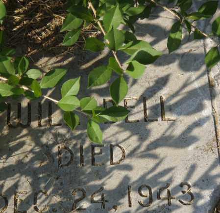 BELL, WILL - Pulaski County, Arkansas | WILL BELL - Arkansas Gravestone Photos