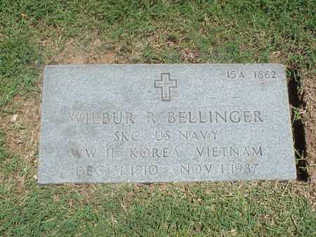 BELLINGER (VETERAN 3 WARS), WILBUR R - Pulaski County, Arkansas | WILBUR R BELLINGER (VETERAN 3 WARS) - Arkansas Gravestone Photos