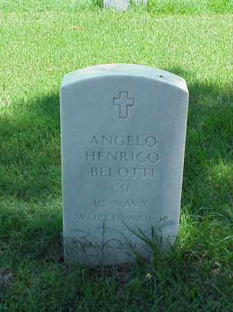 BELOTTI (VETERAN WWII), ANGELO HENRICO - Pulaski County, Arkansas | ANGELO HENRICO BELOTTI (VETERAN WWII) - Arkansas Gravestone Photos
