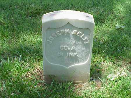 BELTZ (VETERAN UNION), JOSEPH - Pulaski County, Arkansas | JOSEPH BELTZ (VETERAN UNION) - Arkansas Gravestone Photos