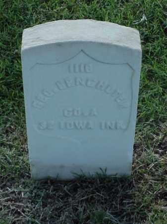 BENCHOTER (VETERAN UNION), GEORGE - Pulaski County, Arkansas | GEORGE BENCHOTER (VETERAN UNION) - Arkansas Gravestone Photos