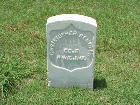 BENDLER (VETERAN UNION), CHRISTOPHER - Pulaski County, Arkansas   CHRISTOPHER BENDLER (VETERAN UNION) - Arkansas Gravestone Photos