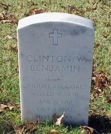 BENJAMIN (VETERAN WWII), CLINTON W - Pulaski County, Arkansas | CLINTON W BENJAMIN (VETERAN WWII) - Arkansas Gravestone Photos