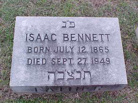 BENNETT, ISAAC - Pulaski County, Arkansas | ISAAC BENNETT - Arkansas Gravestone Photos