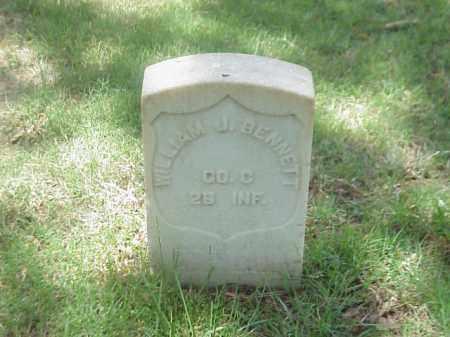 BENNETT (VETERAN UNION), WILLIAM J - Pulaski County, Arkansas | WILLIAM J BENNETT (VETERAN UNION) - Arkansas Gravestone Photos