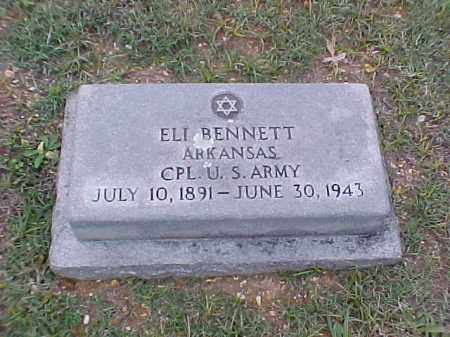 BENNETT (VETERAN WWI), ELI - Pulaski County, Arkansas | ELI BENNETT (VETERAN WWI) - Arkansas Gravestone Photos