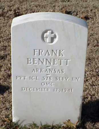 BENNETT (VETERAN WWI), FRANK - Pulaski County, Arkansas | FRANK BENNETT (VETERAN WWI) - Arkansas Gravestone Photos