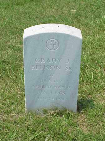 BENSON, SR (VETERAN WWII), GRADY J - Pulaski County, Arkansas   GRADY J BENSON, SR (VETERAN WWII) - Arkansas Gravestone Photos