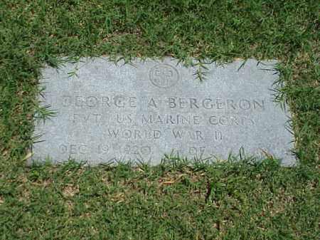 BERGERON (VETERAN WWII), GEORGE A - Pulaski County, Arkansas   GEORGE A BERGERON (VETERAN WWII) - Arkansas Gravestone Photos