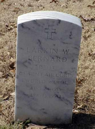 BERNARD (VETERAN WWII), LARKIN W - Pulaski County, Arkansas | LARKIN W BERNARD (VETERAN WWII) - Arkansas Gravestone Photos