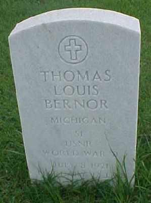 BERNOR (VETERAN WWII), THOMAS LOUIS - Pulaski County, Arkansas | THOMAS LOUIS BERNOR (VETERAN WWII) - Arkansas Gravestone Photos
