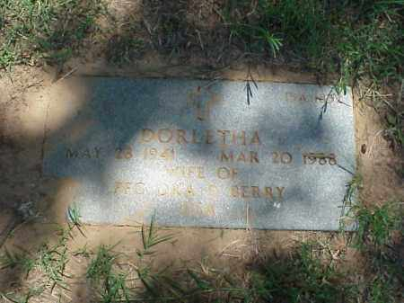 BERRY, DORLETHA - Pulaski County, Arkansas | DORLETHA BERRY - Arkansas Gravestone Photos