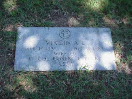 BERRY, VIRGINIA L - Pulaski County, Arkansas | VIRGINIA L BERRY - Arkansas Gravestone Photos