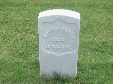 BERRY (VETERAN UNION), DAVID J - Pulaski County, Arkansas | DAVID J BERRY (VETERAN UNION) - Arkansas Gravestone Photos