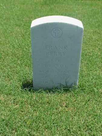 BERRY (VETERAN WWI), FRANK - Pulaski County, Arkansas | FRANK BERRY (VETERAN WWI) - Arkansas Gravestone Photos