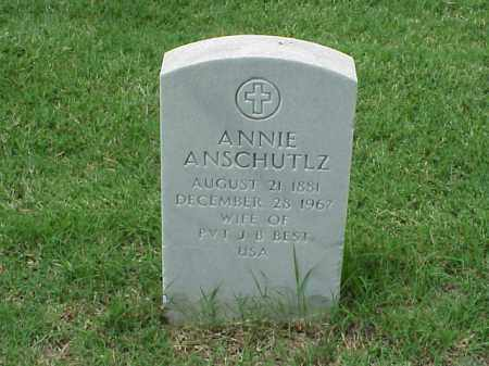 BEST, ANNIE - Pulaski County, Arkansas | ANNIE BEST - Arkansas Gravestone Photos