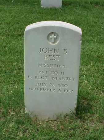 BEST (VETERAN), JOHN B - Pulaski County, Arkansas   JOHN B BEST (VETERAN) - Arkansas Gravestone Photos