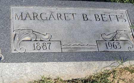 BETTS, MARGARET B - Pulaski County, Arkansas   MARGARET B BETTS - Arkansas Gravestone Photos