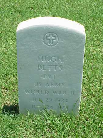 BETTS (VETERAN WWII), HUGH - Pulaski County, Arkansas | HUGH BETTS (VETERAN WWII) - Arkansas Gravestone Photos