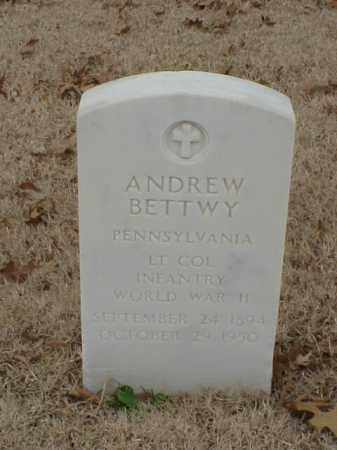 BETTWY (VETERAN WWII), ANDREW - Pulaski County, Arkansas | ANDREW BETTWY (VETERAN WWII) - Arkansas Gravestone Photos