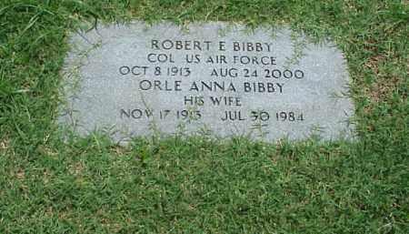 BIBBY (VETERAN WWII), ROBERT E - Pulaski County, Arkansas   ROBERT E BIBBY (VETERAN WWII) - Arkansas Gravestone Photos