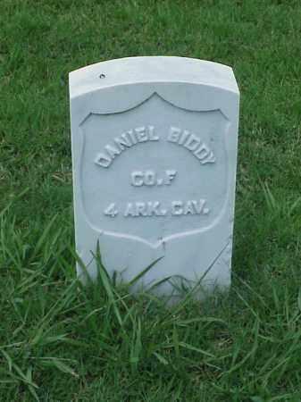 BIDDY (VETERAN UNION), DANIEL - Pulaski County, Arkansas | DANIEL BIDDY (VETERAN UNION) - Arkansas Gravestone Photos